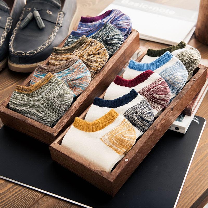 袜子男士夏季薄款低帮短筒短袜吸汗防臭棉袜批发浅口隐形船袜运动