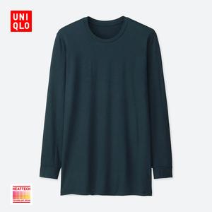 天猫 UNIQLO优衣库 男装HEATTECH圆领T恤79元包邮 已降20元