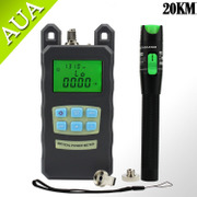 Red light power red light source optical power meter Tester Kit 20MW fibre testing 15-20 km