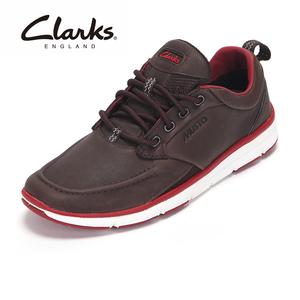 clarks休闲男鞋 Orson Crew 运动户外防滑耐磨舒适系带休闲鞋