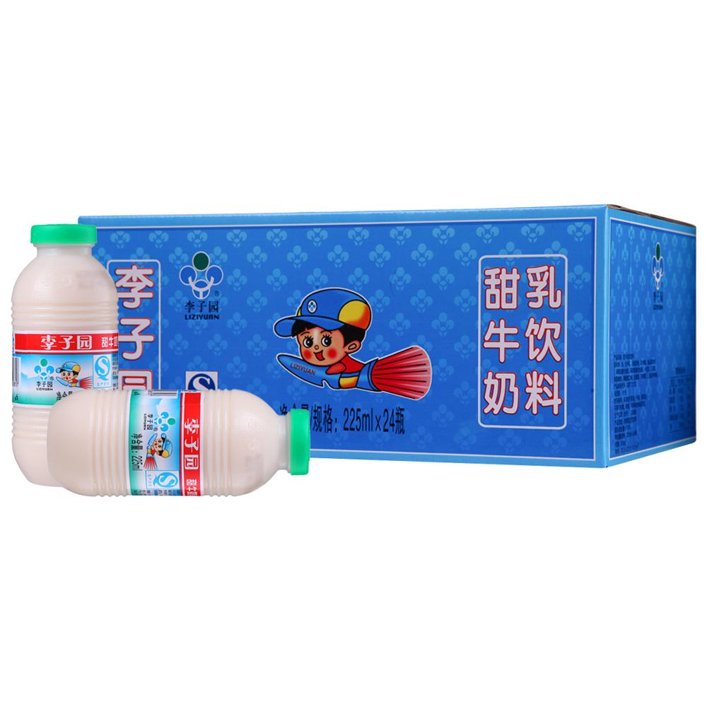 ~天貓超市~李子園~甜牛奶乳飲料 225ml~24奶味香醇健康美味