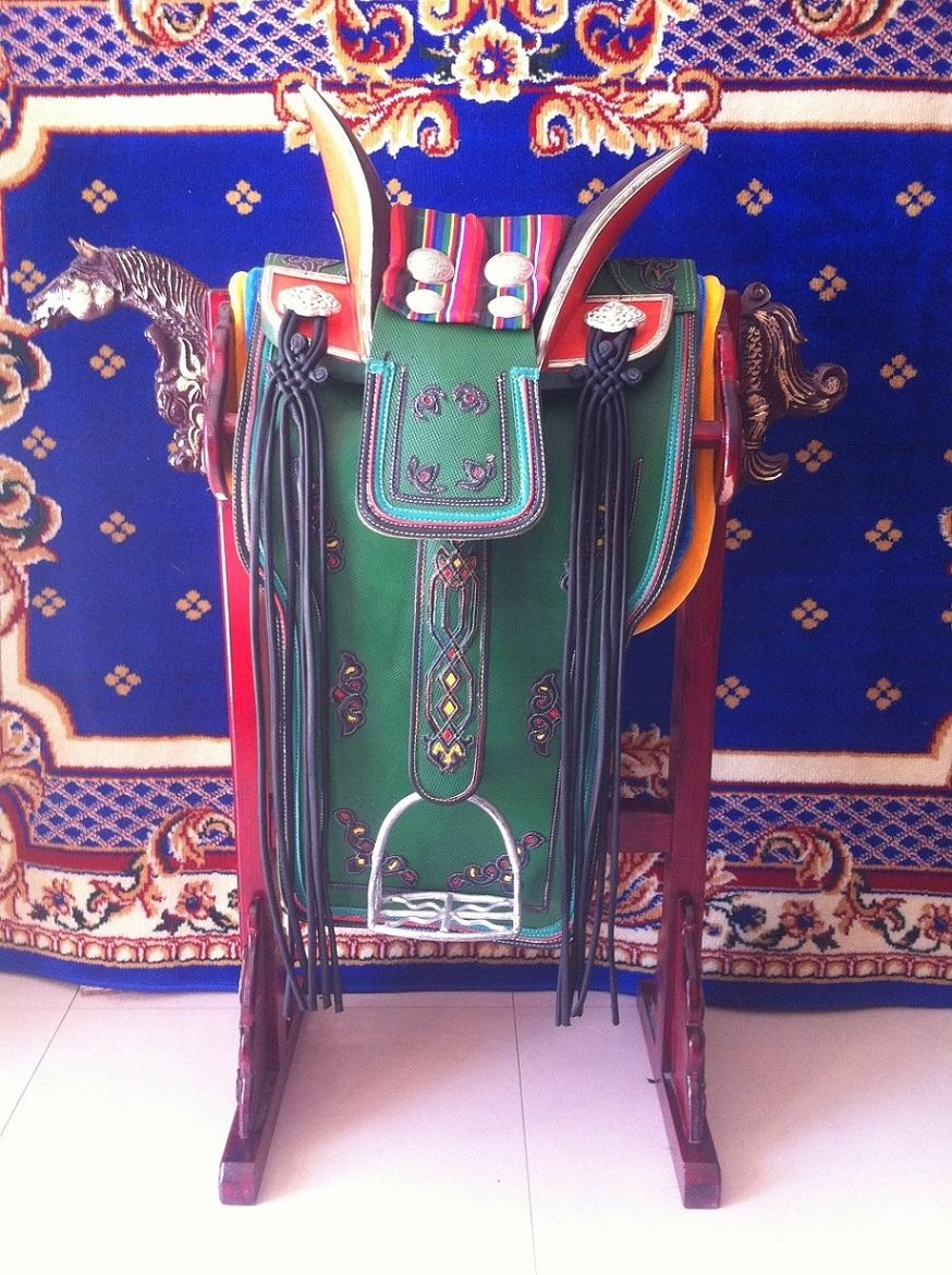 Деревянная полка для седла для лошадей коричневый Седельная полка