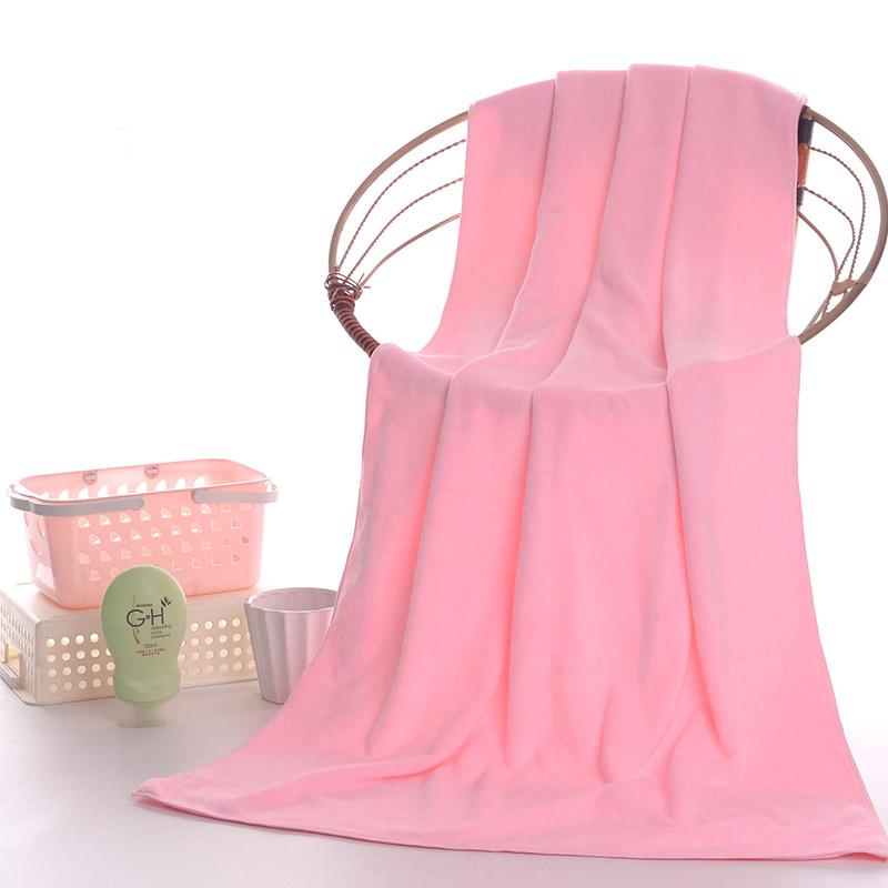 美容院铺床加大床单浴巾男女夏超吸水大毛巾比纯棉柔软不掉毛批发