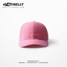 Chic solid color hip hop golf, South Korea, Europe, America, Japan, tennis red, the same versatile baseball cap, couple