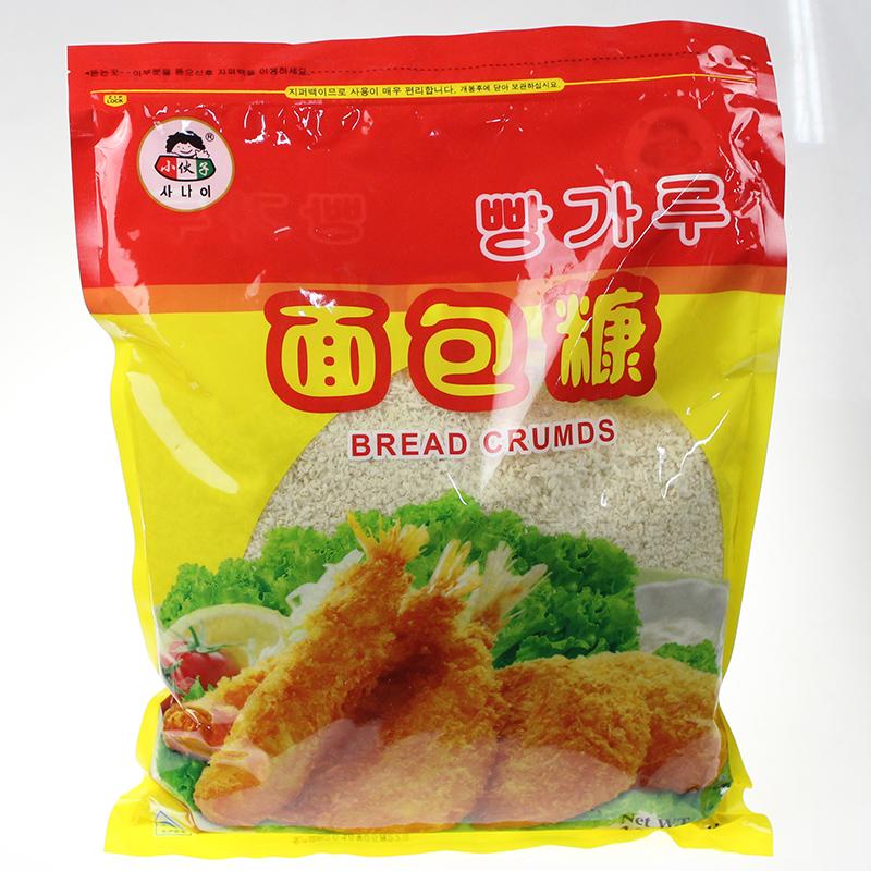 券后14.90元小伙子1000g炸虾炸猪排调料面包糠