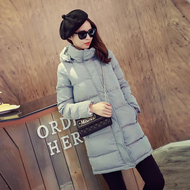 Женской моды осень/зима вниз Куртка Пальто больших zip вокруг бумажника тонкий мягкий дамы Корейский мягкий хлопок женщины куртка зимняя