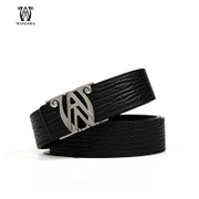 Wanlima/Wanli Ma spring 2016 Mall men smooth buckles belts leisure belts leather