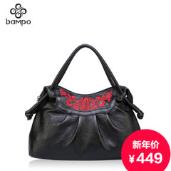 Banpo flagship-store leather women bag handbag official original folk style hand bags embroidered bags ladies handbags
