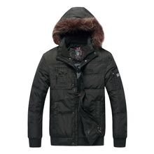 More authentic ice fly bosideng down jacket man old coats male big yards father winter clothing clearance