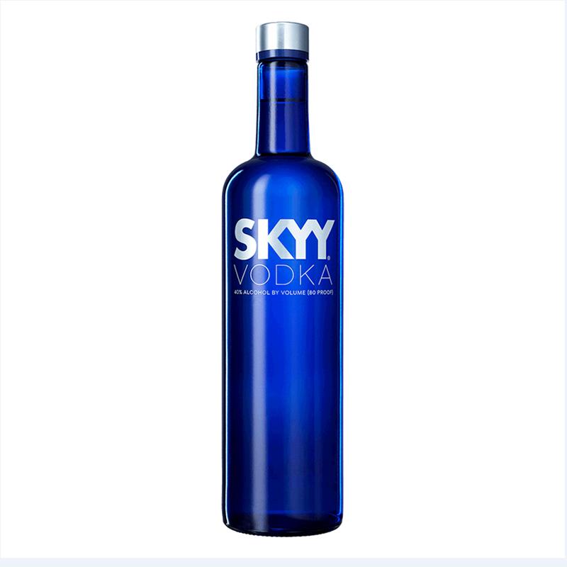 深藍伏特加 SKYY美國 原味VODKA洋酒 750ml 瓶