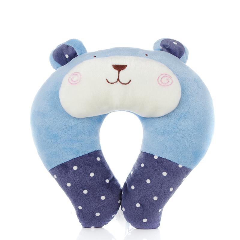 卡通U型枕可愛U型枕頭護頸枕旅行護脖子頸椎枕辦公室午睡枕護腰墊