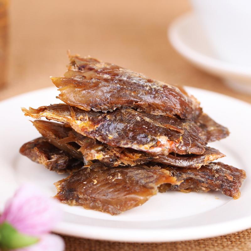 舟山富丹香酥小黄鱼100克黄花鱼即食鱼干特产海鲜干货小鱼仔零食
