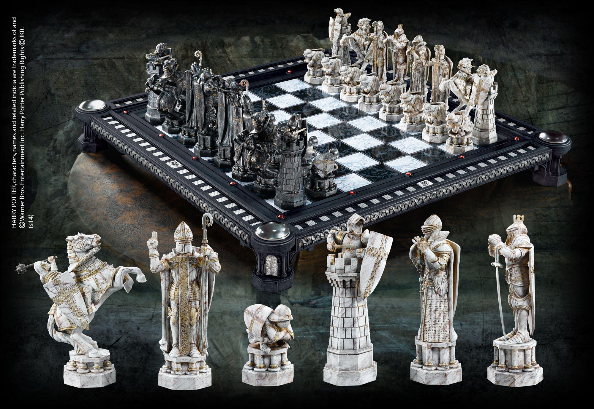 美国代购华纳正版哈利波特周边最后的挑战国际象棋收藏版 巫师棋