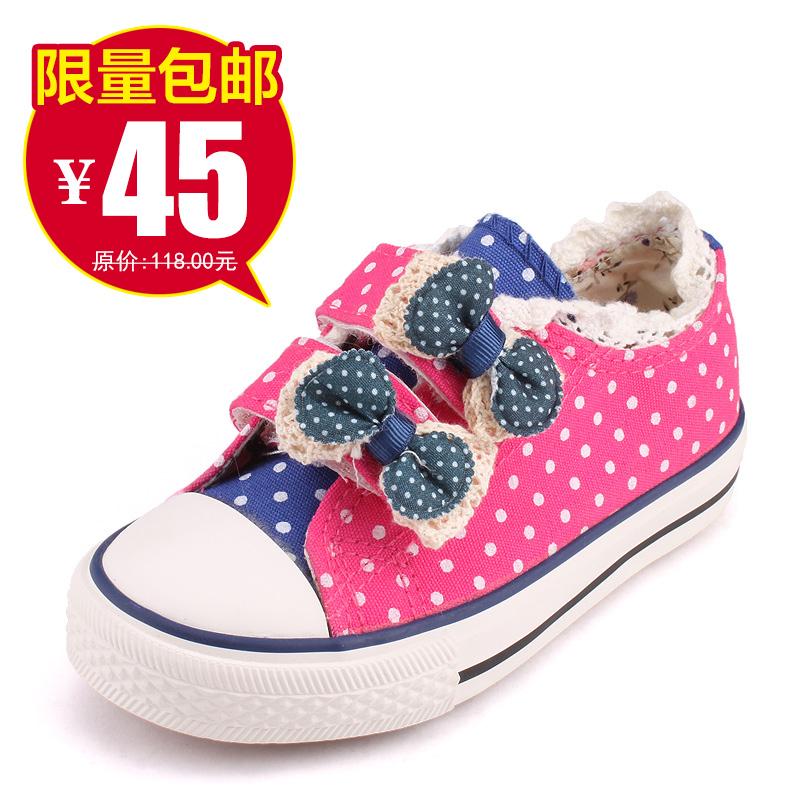 Один из обуви обувь Холст обувь девочек обувь для детей к 2015 году весной новой корейской волны принцесса ребенка ребенка