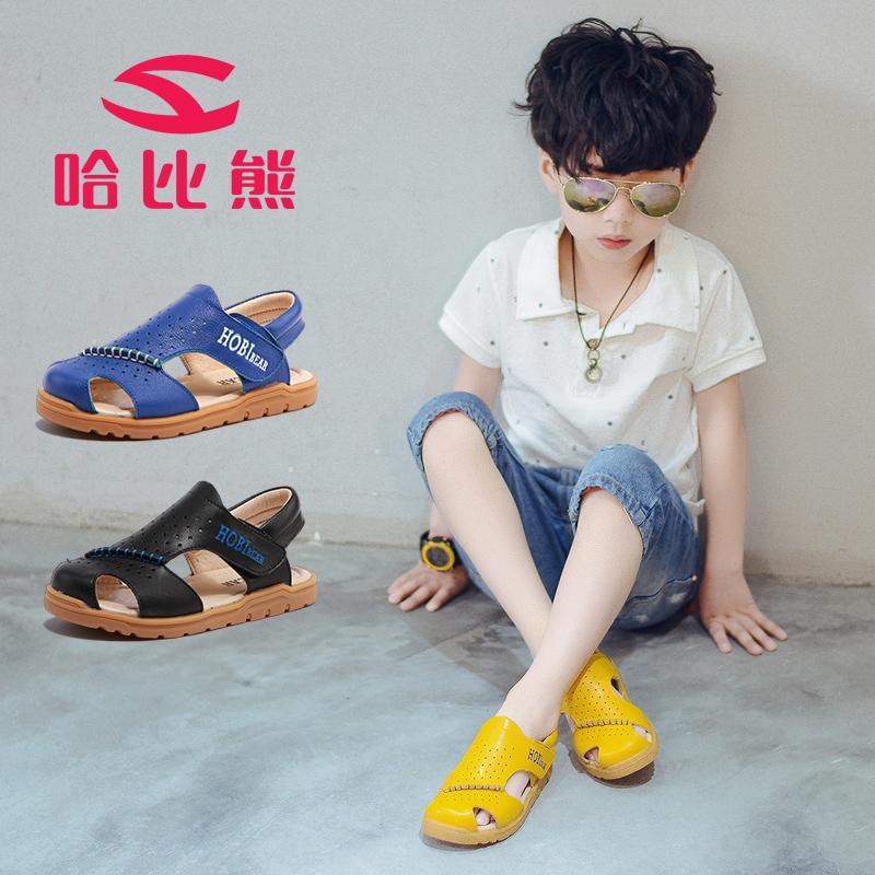 男童凉鞋2018新款韩版夏季宝宝男孩小童中大童软底防滑学生儿童鞋