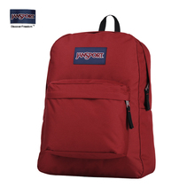 Jan Sport Flagship Shop Official Website Jasper Shoulder Bag Girl Student Bag Pure Color Men's and Women's Backpack T501