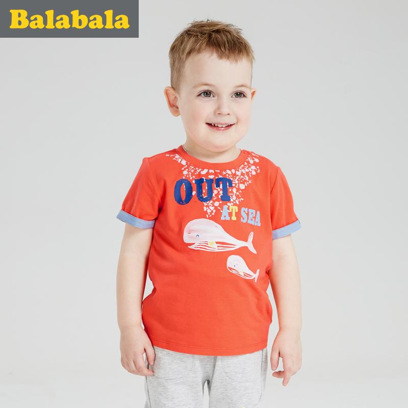 巴拉巴拉男童小童兒童t恤