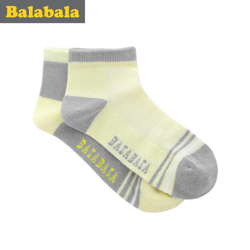 巴拉巴拉 中大童短襪