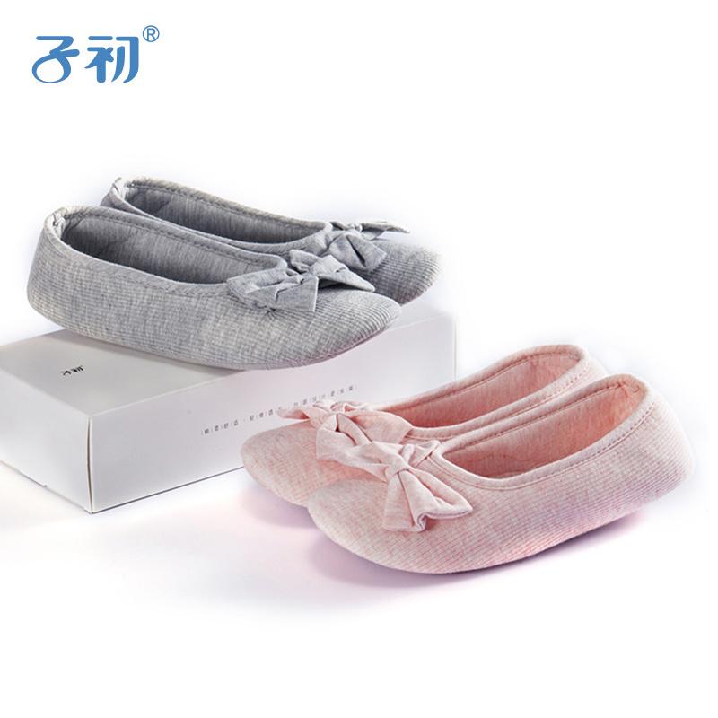 子初月子鞋 產婦軟底鞋產後孕婦春秋包跟防滑鞋薄款鞋