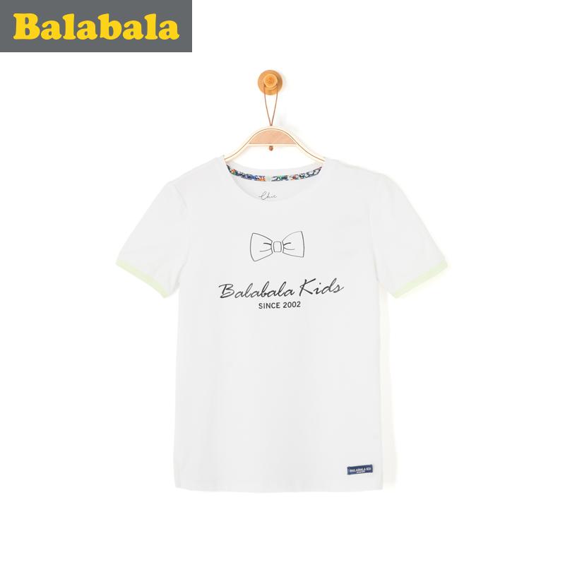 巴拉巴拉男童中大童t恤