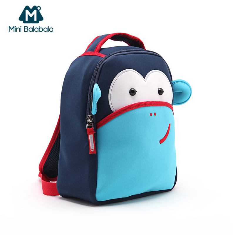 迷你巴拉巴拉男童女童書包兒童卡通幼兒園書包小學生寶寶雙肩背包