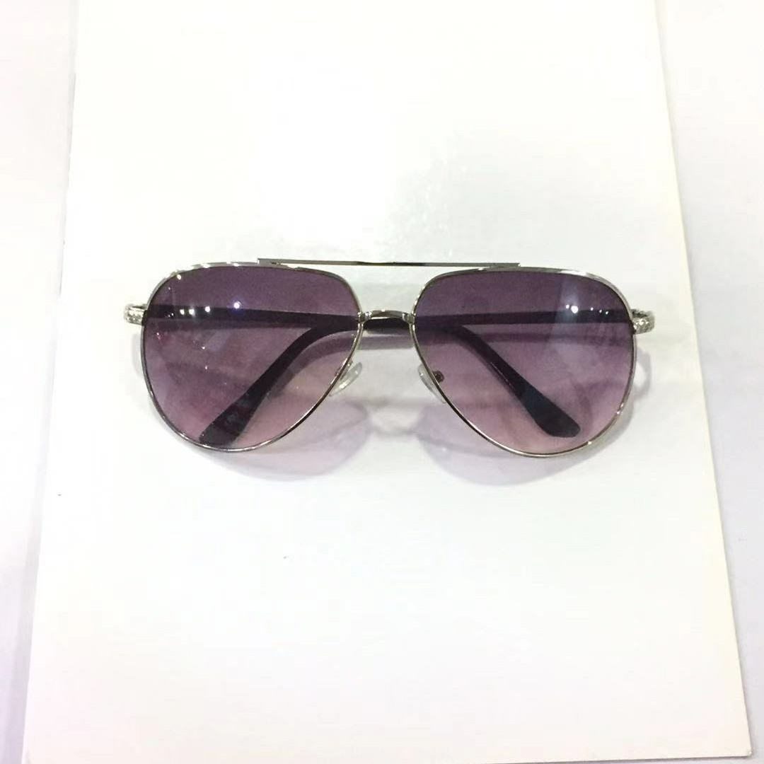 Classic toad glasses gradient UV Sunglasses outdoor sunshade glasses grey purple Sunglasses