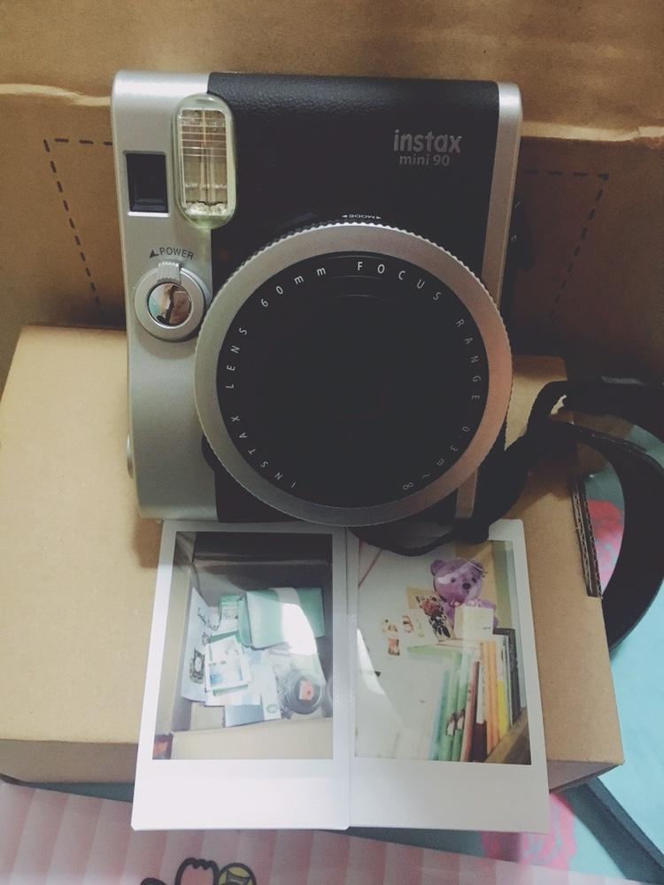 富士instax mini90拍立得相机,送给女友生日礼物