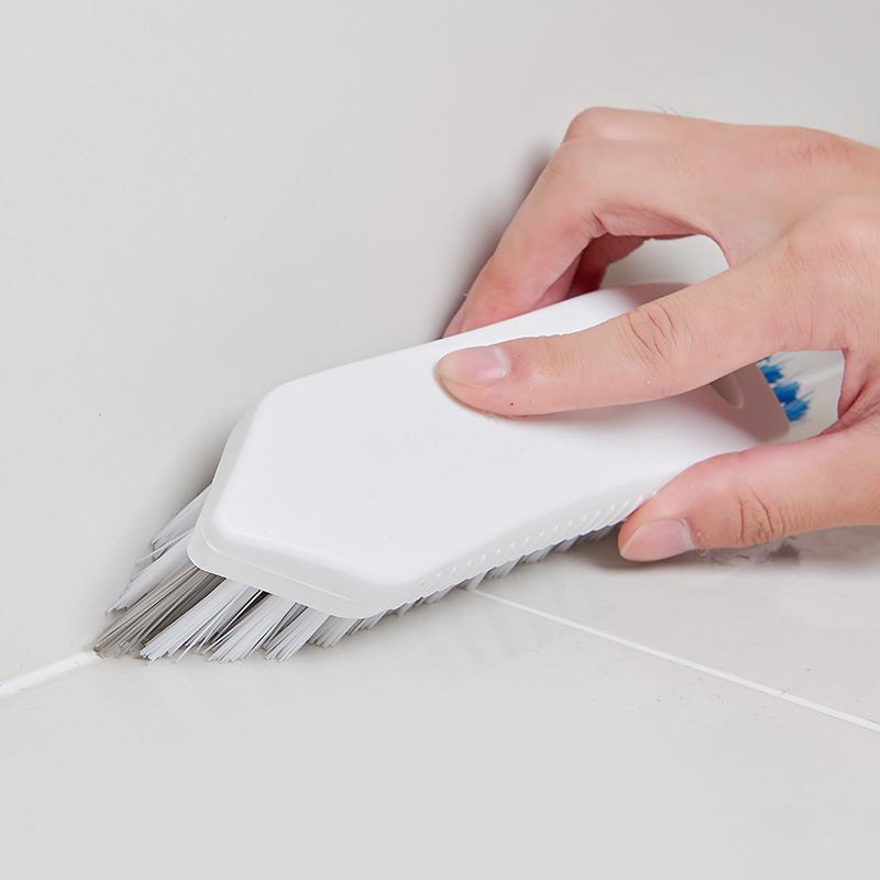 日本AISEN浴室墙面瓷砖刷 卫生间墙角地板缝隙刷 卫浴清洁刷子