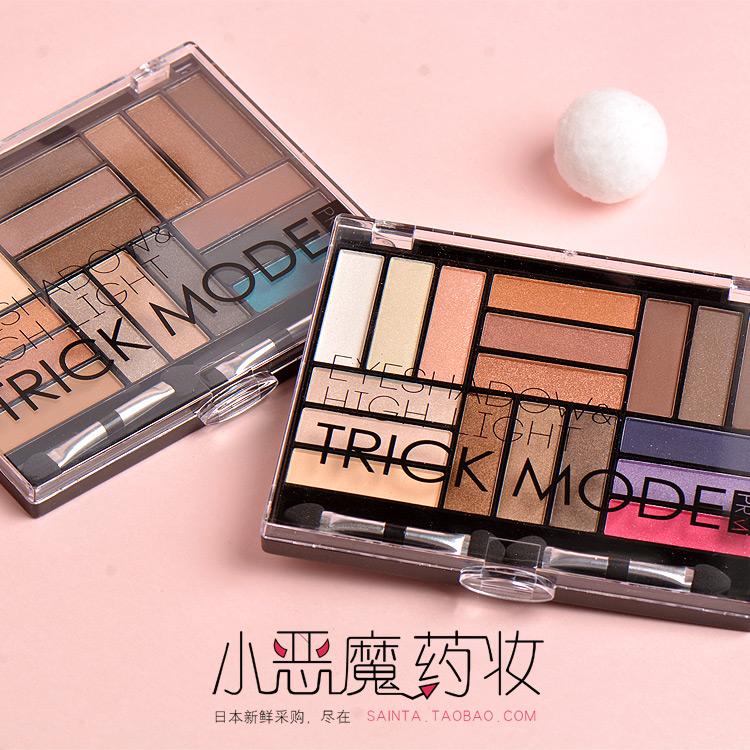 Япония Lucky PRM 16 цвет умение своевременно высокий свет рвать мешок тени для век блюдо новая рука земля цвет китайская капуста около