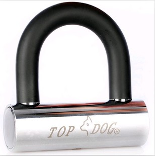 Chengdu Lin Youfeng store counter TOPDOG Taiwan dog king lock 2230 bold Edition Motorcycle lock disc brakes