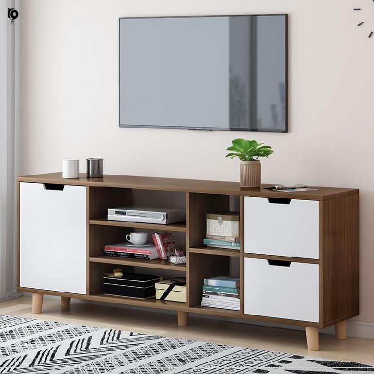 TV cabinet simple modern bedroom small family fresh atmosphere model room hotel living room master bedroom cheap furniture