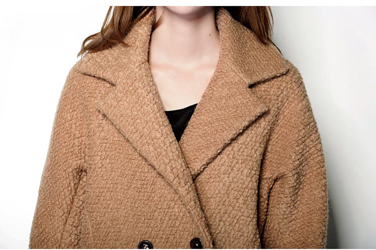 Miccbeirn2013 шерсти шерстяной ткани Куртка Пальто зимы новый стиль с длинным рукавом JH484 от Kupinatao