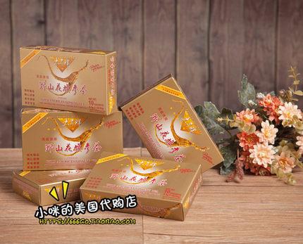 美国代购 正品美国太子牌高级速溶野山花旗参茶5小盒x10包 进口