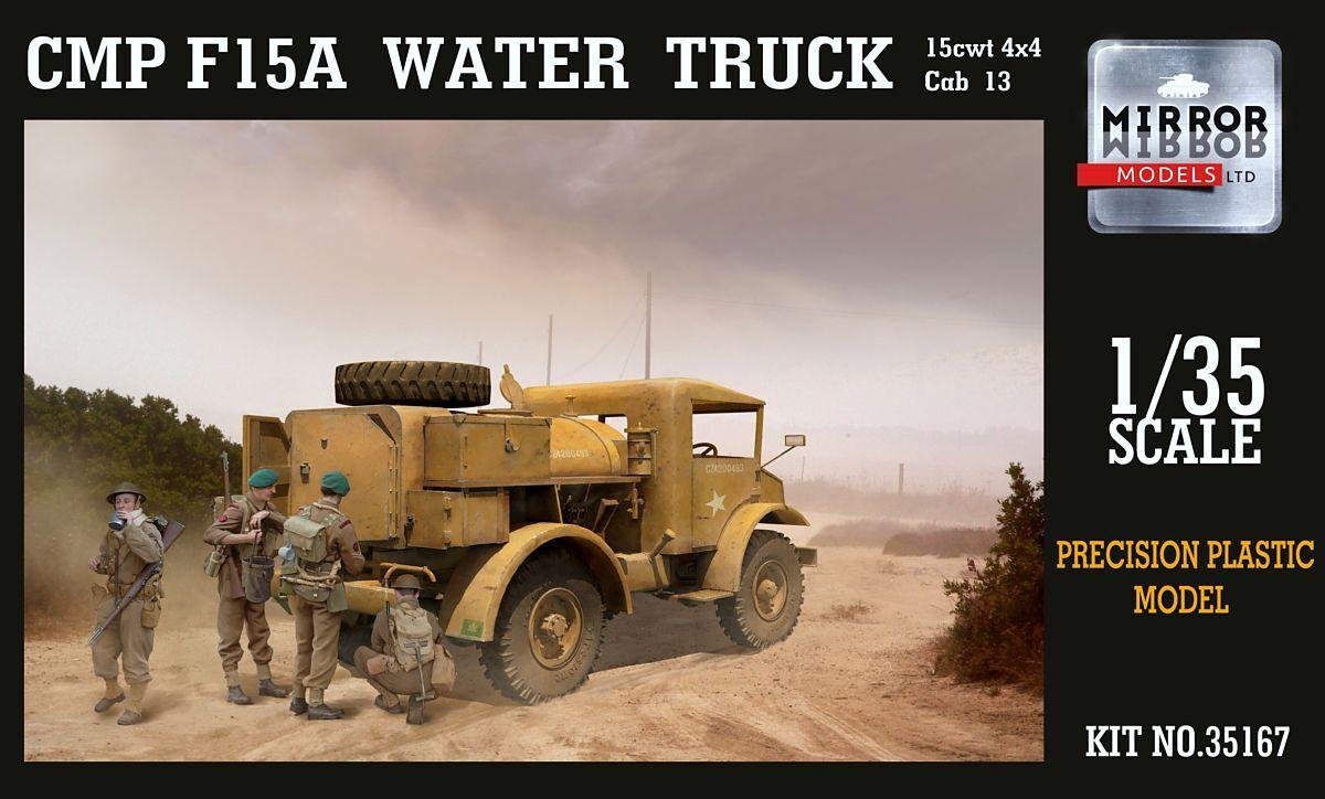 钢铁苍穹 MIRROR 35167 1/35 二战盟军 CMP F15A 输水运水卡车