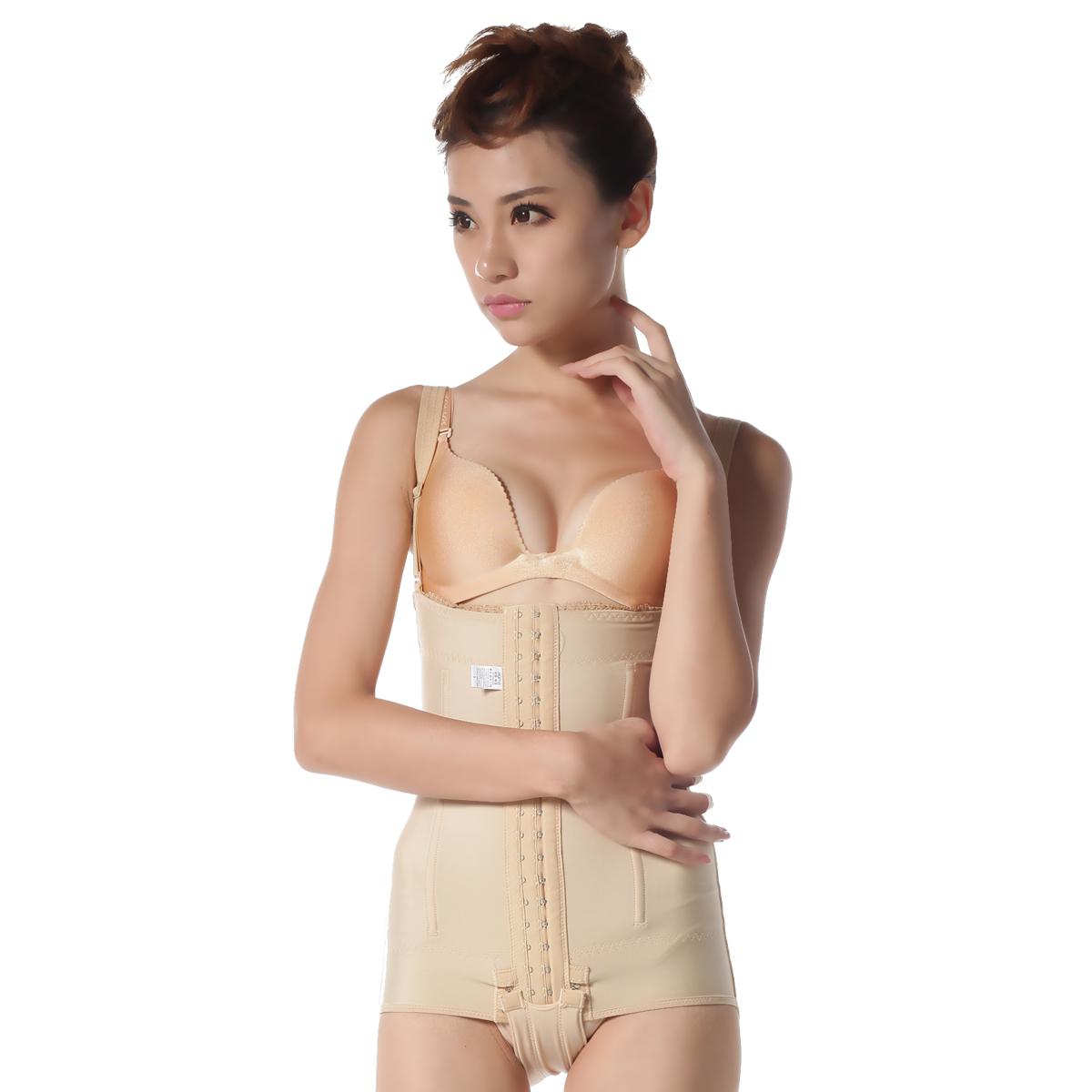 瘦身塑身衣瘦身加压一期连体身上强效收腹提臀牌子束身带哪个中药好图片