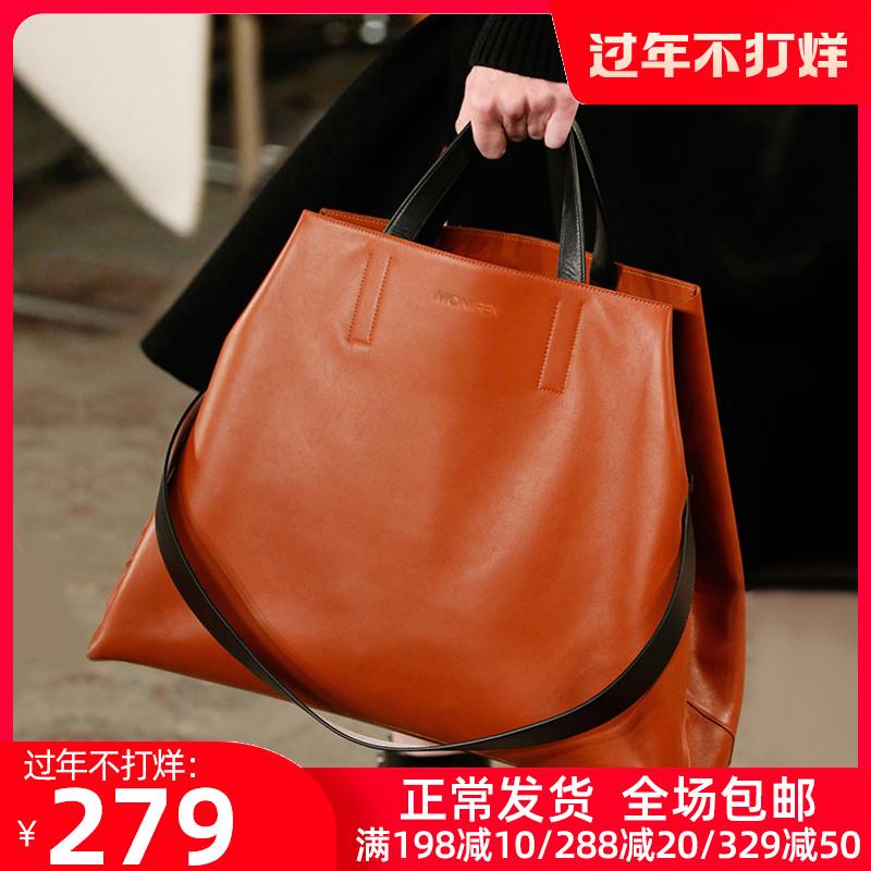 新款潮真皮女包大气时尚百搭大容量单肩斜挎手提包2020轻奢大包包