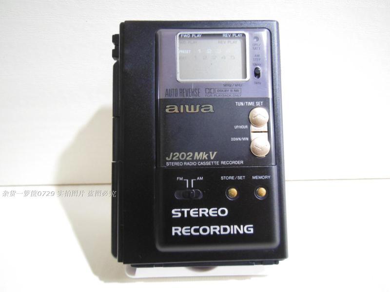 二手aiwa 爱华 HS-J202MK Ⅴ5 磁带播放器 随身听带收音问题机(2)