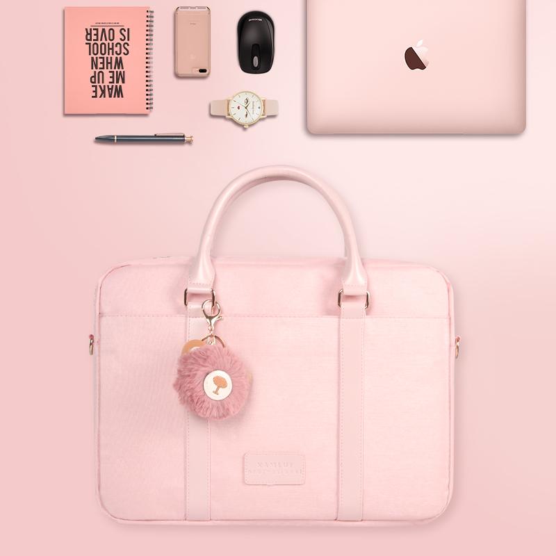 笔记本电脑包手提13.3寸14女15.6苹果macbookpro联想air戴尔华硕