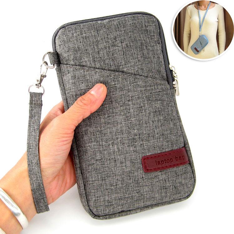 6.95寸华为荣耀Note10/8平板手机挂脖手腕保护皮套壳手拿内胆包袋