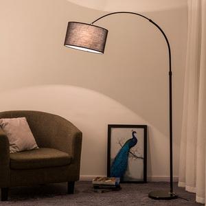 钓鱼灯落地灯客厅卧室宜家北欧书房LED护眼创意床头调节立式台灯