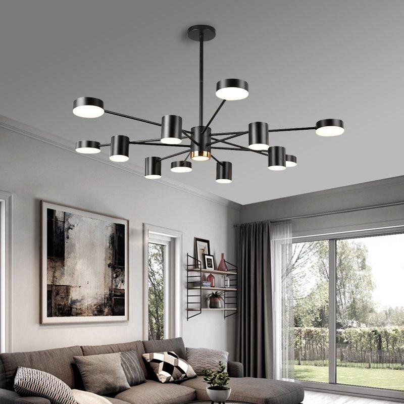 魔豆分子灯北欧大客厅吊灯2020年新款餐厅卧室灯家用现代简约大气