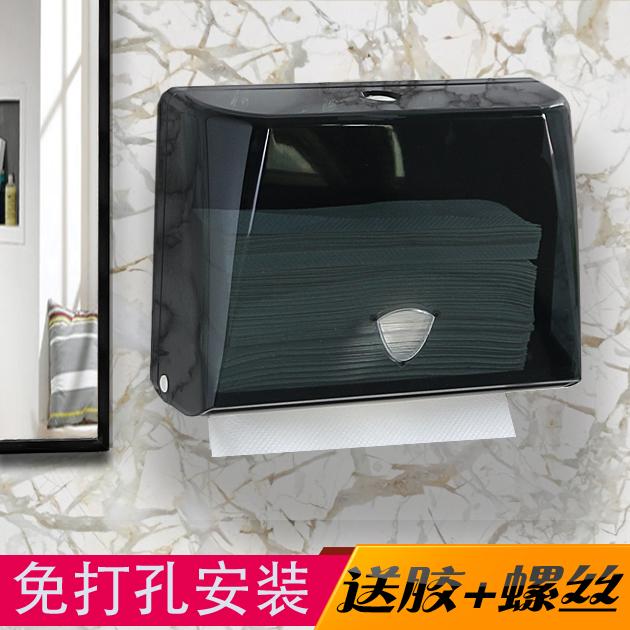 Поднос для полотенца для рук Подвесной туалет туалет съемный лоток домашняя кухня бесплатная штамповка водонепроницаемый Тканевая коробка