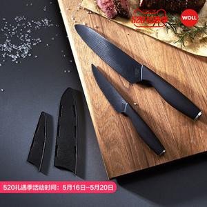 德国woll不粘刀四件套寿司刀陶瓷刀