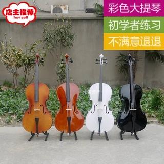 Виолончели,  Начинающий практика большой скрипка для взрослых ребенок большой скрипка белый штейн свет большой скрипка специальное предложение музыкальные инструменты, цена 4752 руб