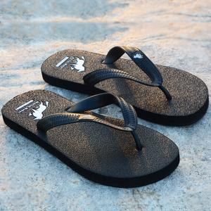 领5元券购买人字拖男士拖鞋夏防滑橡胶室外凉拖软底外穿休闲夹脚ins潮沙滩鞋