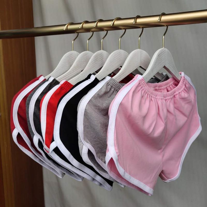 New sports shorts womens AA pants Yoga Korean hot pants Summer Cotton bottomed wide leg pants sleeping pants summer beach pants