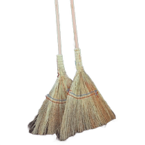 Ollie Handmade broom handmade broom hard wool sorghum net seedling Sweep broom factory unit with Broom