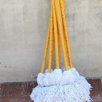 Ollie Home thick cotton strips mop home vintage cotton mop household cloth MOP water MOP