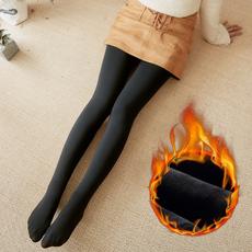 秋冬加厚加绒外穿光腿袜