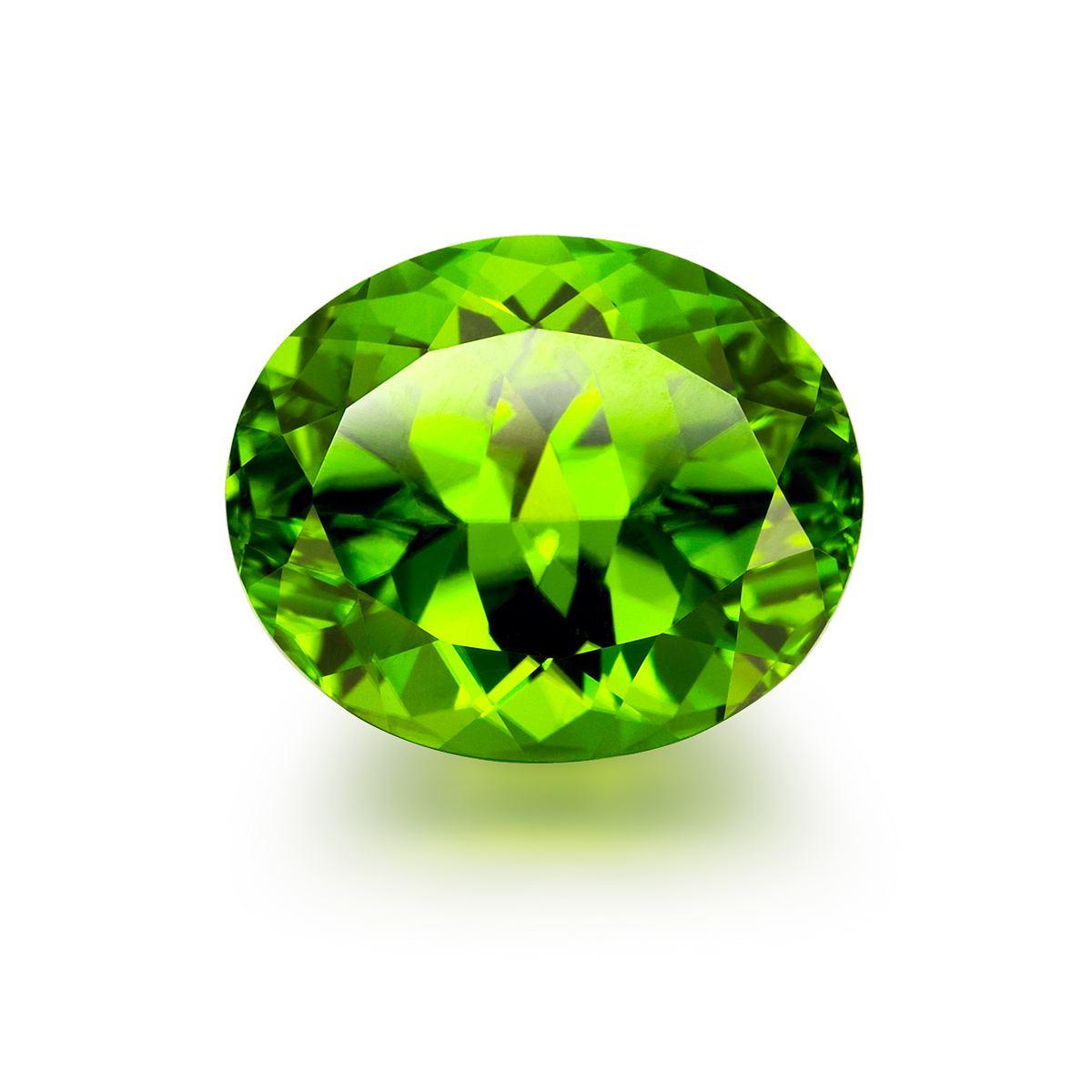 【鼎云轩】天然橄榄石裸石手链戒指高级私人镶嵌加工订制